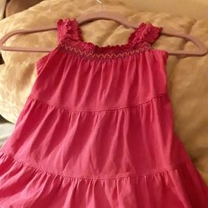 Hanna Andersson sundress / jumper size 110